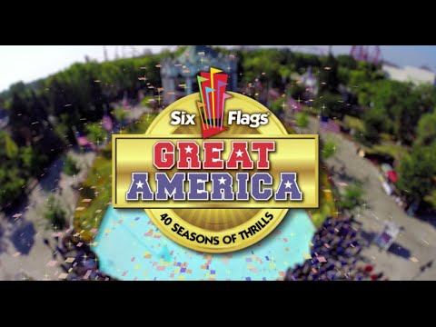 Great - Six Flags Great America is excited to announce a celebration of 40 Seasons of Thrills in 2015. As a part of the 40th season celebration, the park will • Completely refresh the Carousel...