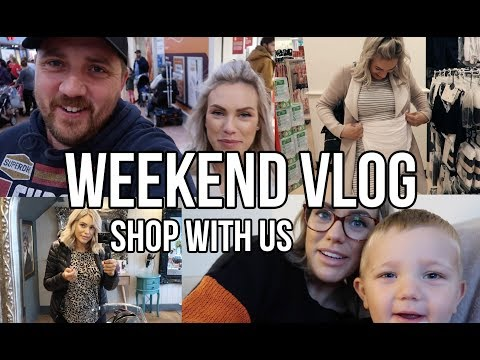 New hairstyle - COME SHOPPING WITH US  WEEKEND VLOG, NEW HAIR, PRIMARK, AND MATERNITY UNDERWEAR