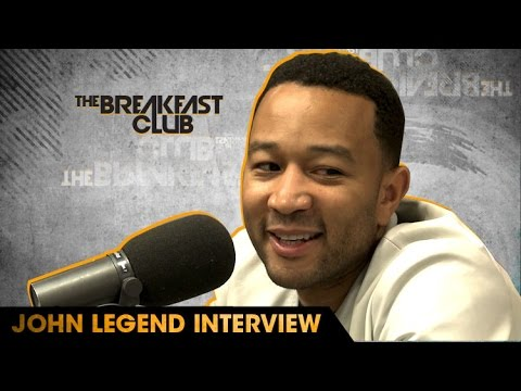 John Legend Interview With The Breakfast Club