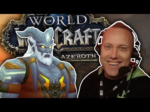 Swifty Plays WoW Battle For Azeroth NEW Expansion Demo (Freehold Dungeon) - Blizzcon 2017