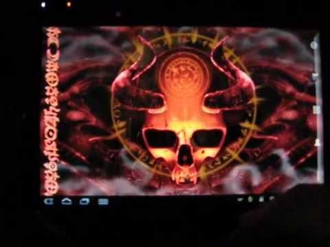 Video of Mystical Skull Live Wallpaper