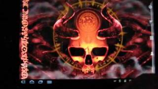 Mystical Skull Live Wallpaper YouTube video