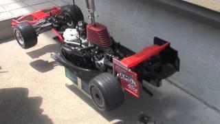 フェラーリラジコンF2007エンジン始動