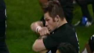 Wales vs New Zealand Haka and Response (whole video)