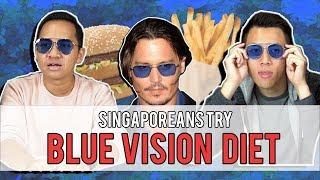Video Singaporeans Try: Blue Vision Diet - DOES IT WORK?! MP3, 3GP, MP4, WEBM, AVI, FLV Agustus 2018