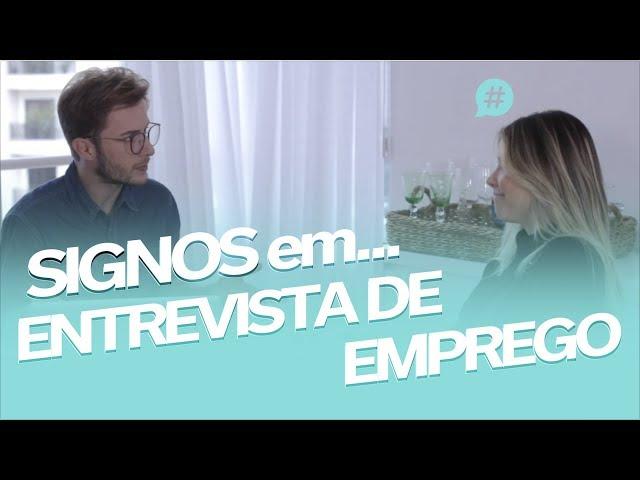 SIGNOS: ENTREVISTA DE EMPREGO! Feat. Maicon Santini - Mica Rocha