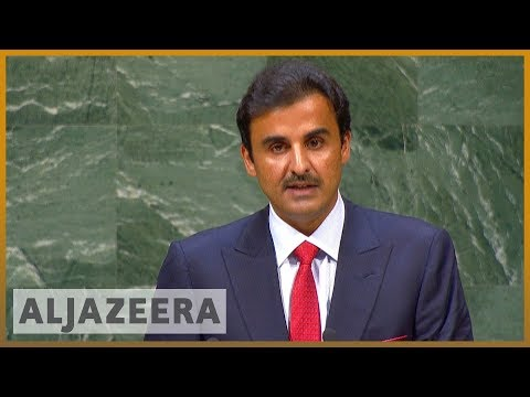 🇶🇦 🇺🇳 Qatar's emir says blockade has damaged the GCC's reputation | Al Jazeera English