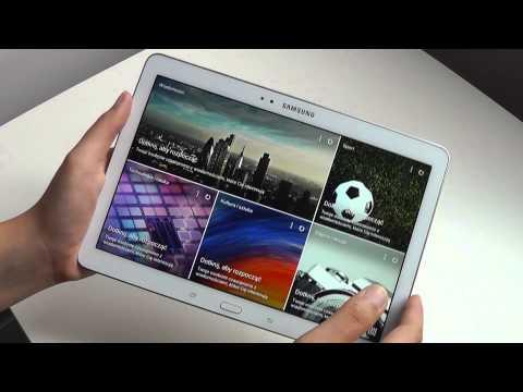 Samsung Galaxy Tab Pro 10.1 – przegląd wideo PL