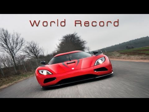 Agera R World Record