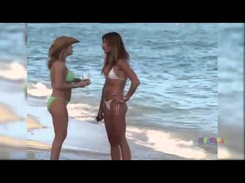 Models Kelly Bensimon and Ramona Singer Show Off Their Bikini Bodies
