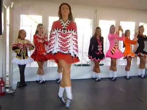 Irish Dancing at St Patrick's Day 2014, London