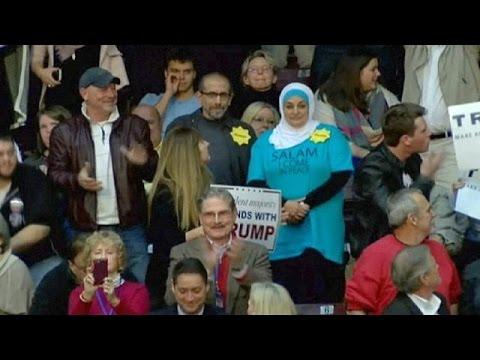 Μουσουλμάνα εκδιώχθηκε από προεκλογική συγκέντρωση του Ντόναλντ Τραμπ