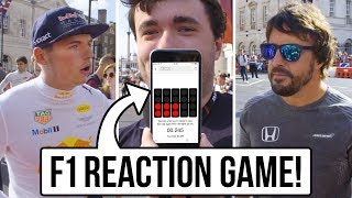 After Bottas's awesome but questionable reaction time in Austria, WTF1 find out which Formula 1 driver has the quickest reactions by challenging them to a start-lights game at F1 Live London.Play the game here: https://wtf1.com/post/online-game-lets-you-see-if-you-can-react-quicker-than-bottas/SUBSCRIBE to WTF1 http://bit.ly/WTF1Subscribe----- Follow WTF1 -----Subscribe to WTF1: http://bit.ly/WTF1SubscribeOn our website: http://www.wtf1.comOn Facebook: http://www.facebook.com/wtf1officialOn Instagram: http://www.instagram.com/wtf1officialOn Twitter: http://www.twitter.com/wtf1official