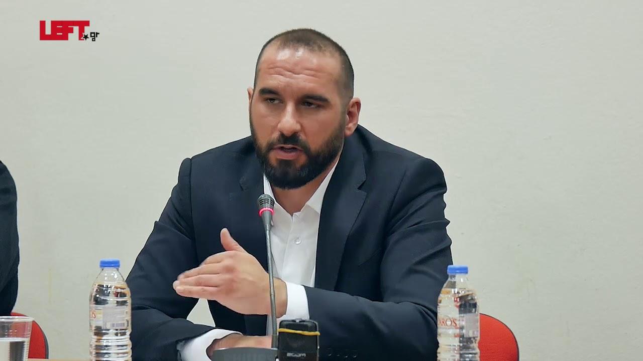 Τρία χρόνια κυβέρνηση της Αριστεράς -Δημήτρης Τζανακόπουλος