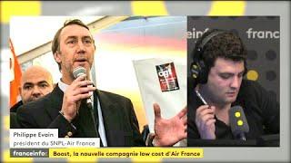 """Les pilotes d'Air France approuvent le projet Boost, """"le fruit du travail de notre bureau syndical"""""""
