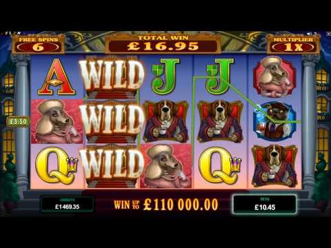 Hound Hotel Slot - Microgaming - Promotional Video