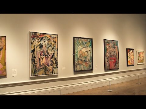 Willem de Kooning in 60 seconds? Yes, thanks to Tim Marlow and his Abstract Expressionism stories