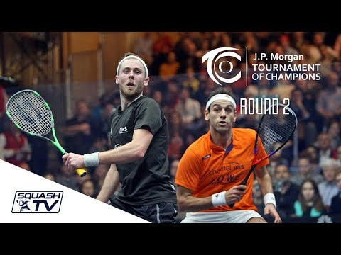 Squash: Tournament of Champions 2018 - Men's Rd 2 Roundup [Pt.2]