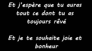 Whitney Houston - I willl always love you - Traduction en français