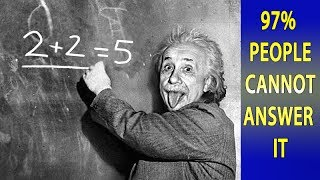 Video 3 Simple Questions Only a Genius Can Answer - Intelligence Test MP3, 3GP, MP4, WEBM, AVI, FLV Agustus 2018