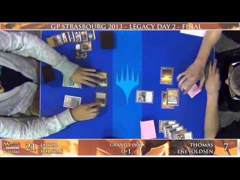 Prix - Watch Jacob Wilson battle Thomas Enevoldsen in the Finals of Grand Prix Strasbourg. Format: Legacy Find complete coverage of Grand Prix Strasbourg at http://...