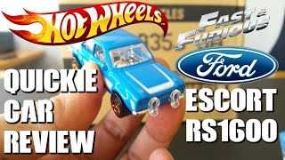 Nonton QUICKIE CAR REVIEW - 1970 FORD ESCORT RS1600 MK1 - seen briefly in FAST & FURIOUS 6 Film Subtitle Indonesia Streaming Movie Download