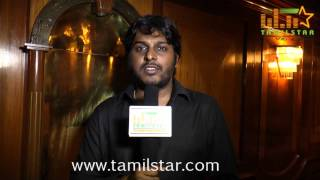 Producer Vinoth Kumar at Sikandi Movie First Look Launch