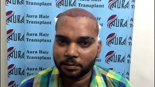 Mr. Robby - Client Reviews (Aura Hair Transplant)
