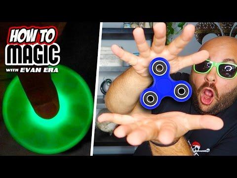 6 Fidget Spinner Magic Tricks!