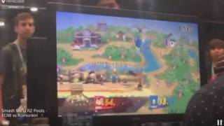 FOW vs. Komorikiri — Evo 2016 Smash Wii U — R2 Pools (Offstream)