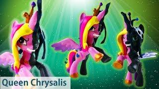 Queen Chrysalis Transforms Into Princess Cadance My Little Pony Split Pony Custom