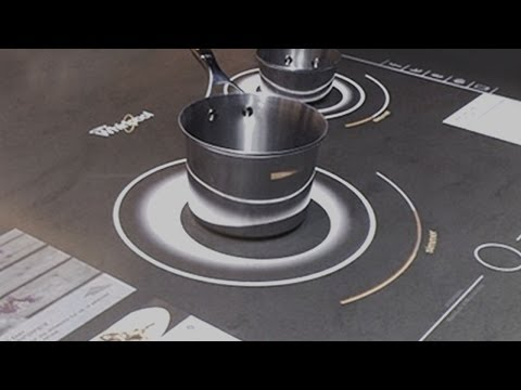 Whirlpool's Interactive Cooktop Concept at CES