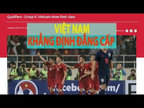 ĐẲNG CẤP là từ báo châu Á khẳng định về U23 Việt Nam - Thời lượng: 82 giây.