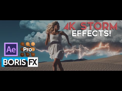 After Effects/Mocha/BorisFX Tutorial: Composite Storm Effects!