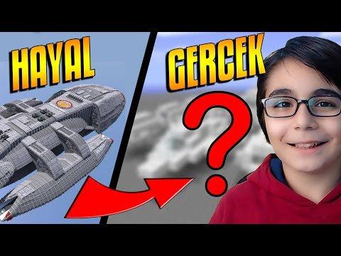 UZAY ARACI !!! | Minecraft: Yapı Kapışmaları BKT
