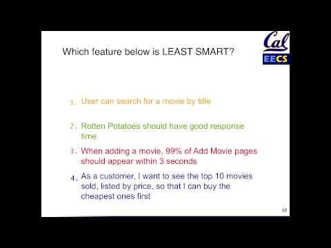 Quiz (SMART User Stories)