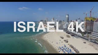 Tel Aviv Israel  city photo : Tel-Aviv, ISRAEL 4K Aerial film