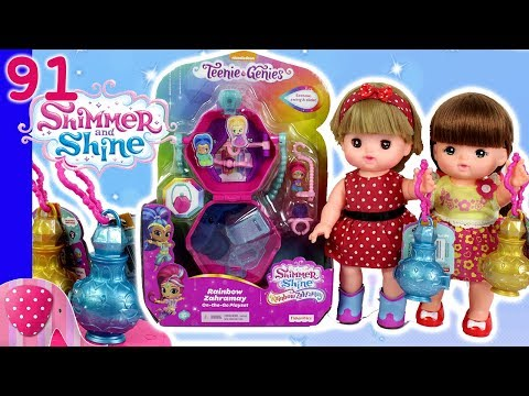 Buka Teenie Genies Rainbow Zahramay Shimmer and Shine - Mainan Boneka Eps 91 S1P10E91 GoDuplo TV