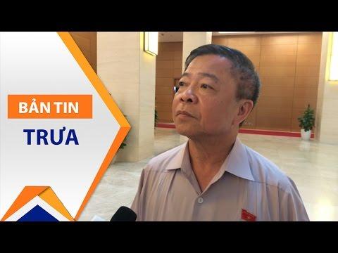 Ông Võ Kim Cự xin thôi Đại biểu Quốc hội | VTC1 - Thời lượng: 50 giây.