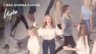 Watch: Kylie Minogue premieres 'I Was Gonna Cancel' video