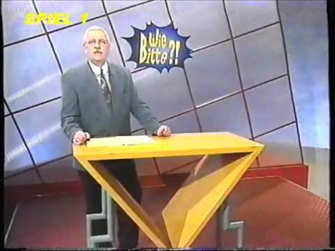 FRAGMENT einer Folge WIE BITTE mit GEERT MÜLLER-GERBES (1993)