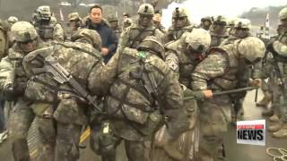 Yeoncheon-gun South Korea  city photos : S. Korea-U.S. forces carry out river crossing drill