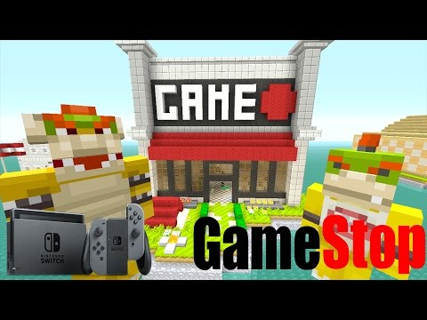 Minecraft Wii U - Nintendo Fun House - Bowser's Video Game! [67]