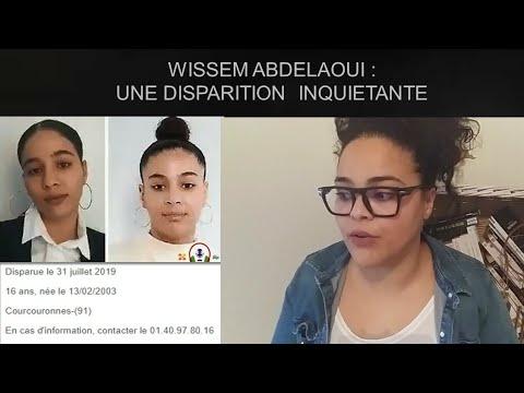 WISSEM ABDELAOUI : UNE DISPARITION INQUIÉTANTE
