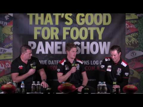 "Footy Show ""That's Good For Footy"" Presents Footy Funatics "" Ep 13 June 14th St Kilda"