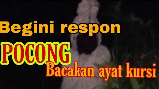 Video Respon P0c0ng jika dibacakan AYAT KURSI MP3, 3GP, MP4, WEBM, AVI, FLV September 2019