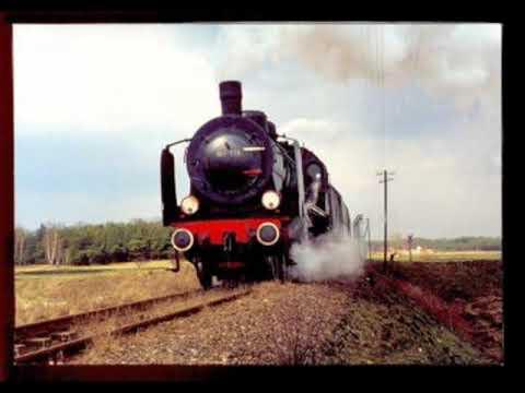 Jedzie pociąg z daleka - stare parowozy
