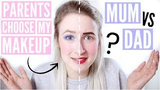 Video MUM vs DAD £10 MAKEUP CHALLENGE | Sophie Louise MP3, 3GP, MP4, WEBM, AVI, FLV Juli 2018