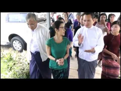 Michelle Yeoh visit, Burma Youth Voice June 2015