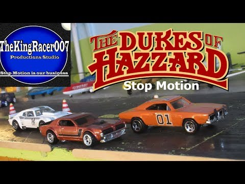 The Dukes of Hazzard - Race Day (stop motion)